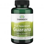 Guarana 500mg 100kaps. Swanson  - 087614019789.jpg