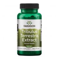 Tribulus Terrestris Extract 500mg 60 caps Swanson  - 087614141794.jpg