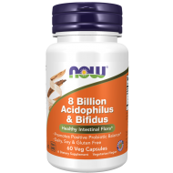 Acidophilus and Bifidus 8 Billion 60 kaps. NOW  - 733739029300.jpg