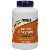 Super Enzymes 180 kapsułek Now Food - 733739029645.jpg