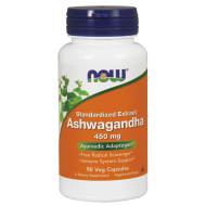 Ashwagandha Extract 450mg 90 vcaps NOW Foods - 733739046031.jpg