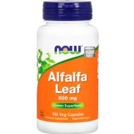 Alfalfa 500mg 100caps Now Foods - 733739046048.jpg