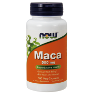 Maca 500mg 100 kapsułek NOW  - 733739047212.jpg