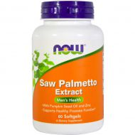 Saw Palmetto Extract 160mg 60 softgels Now Food - 733739047403.jpg