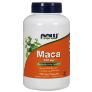 Maca 500mg 250 vcaps NOW Foods - 733739047625.jpg